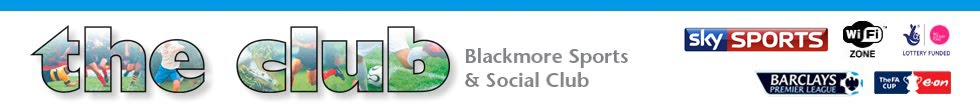 Blackmore Sports and Social Club - Blackmore, Essex | Football | Cricket | Squash | Snooker | Tennis
