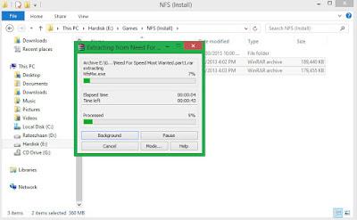 Cara Menggabungkan File yang Terpecah (Part) Dengan Winrar