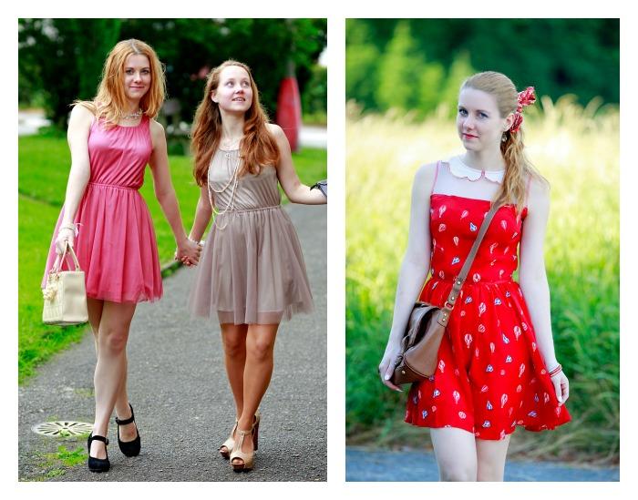 módní blogerka, lucie srbová, móda v čechách, dívčí šaty
