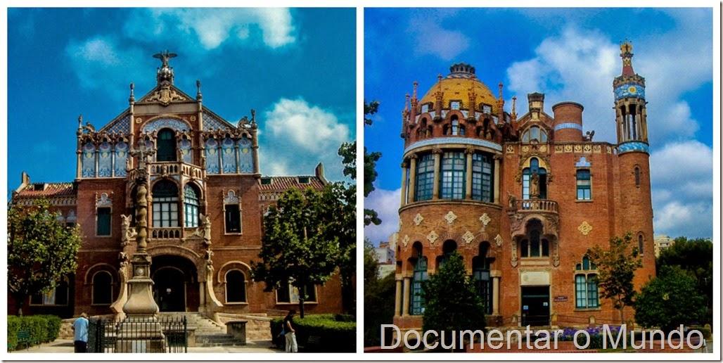 Hospital de la Santa Creu i Sant Pau; Barcelona Modernista
