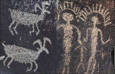 Ginkgo State Park petroglyphs.