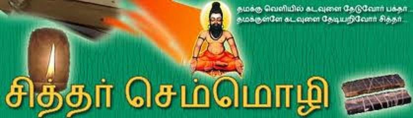 சித்தர் வாக்கு