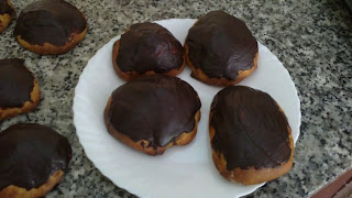 bollitos de chocolate