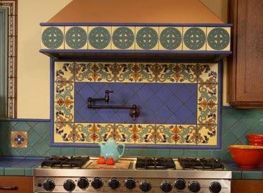 Charming Colorful Malibu Tile