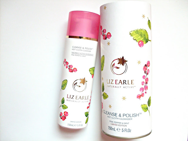 Liz Earle Hot Cloth Cleanser Pink Pepper and Mint