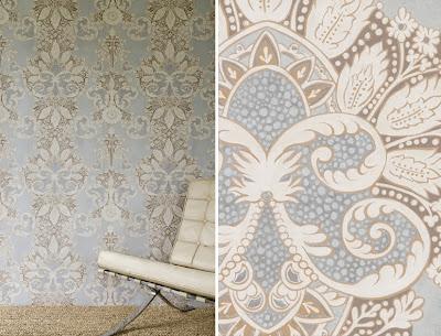 Rococo Matte Wallpaper – Oasis