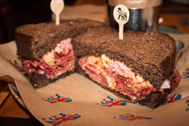 Gordon Ramsay Pub & Grill - Dublin Corned Beef Brisket Sandwich
