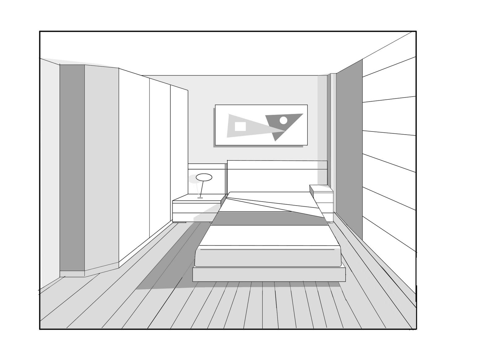 interiorista freelance projecte 12 dormitori matrimoni
