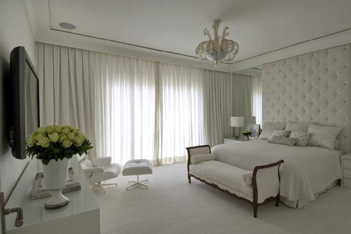 Construindo minha casa clean cabeceiras de cama na - Cortinas para cama ...