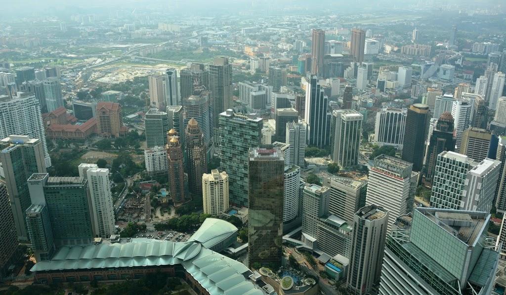 Petronas Towers Kuala Lumpur Observation deck
