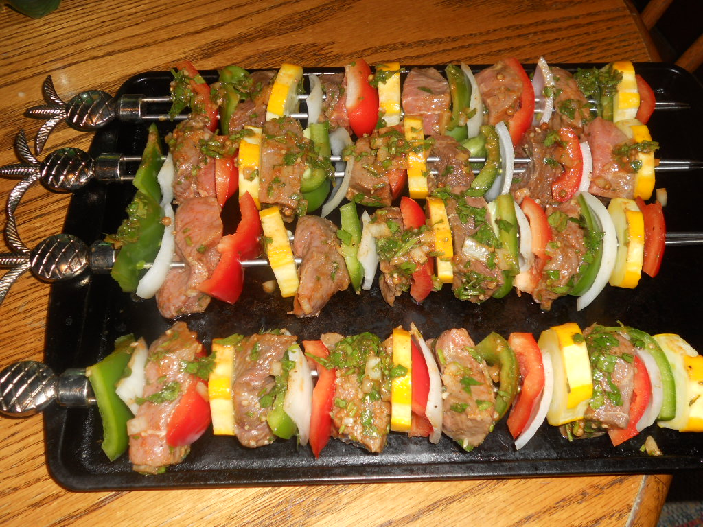 shish kabobs marinateresults of beef kabob bathe the marinade big