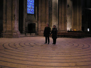 Chartres Cathedral labyrinth Chartres France