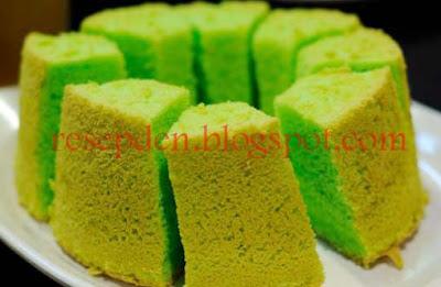 Resep dan Cara Membuat Kue Bolu Pandan