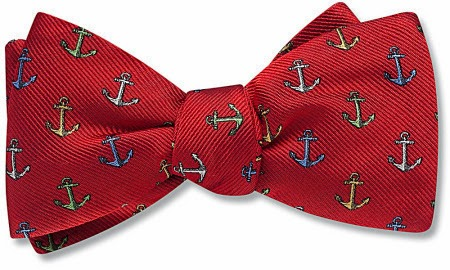 Britannia bow tie from Beau Ties Ltd.