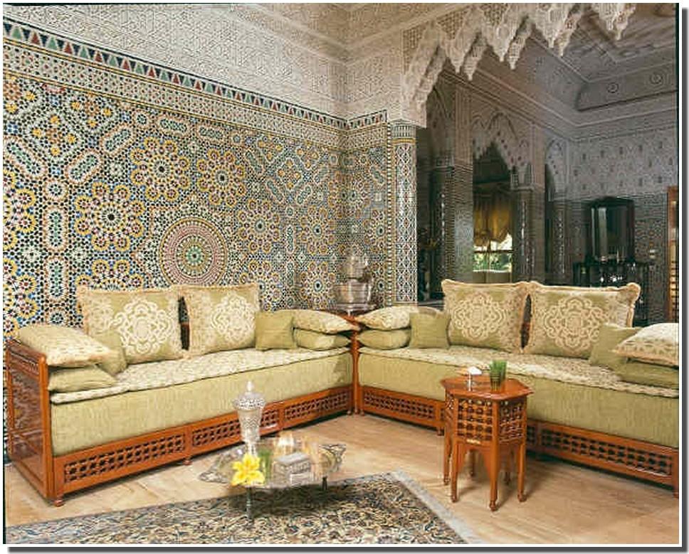 Salon Des Arabes : Salon arabe moderne solutions pour la décoration