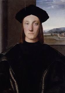 The portrait by Raphael is housed at the Uffizi Gallery in Florence