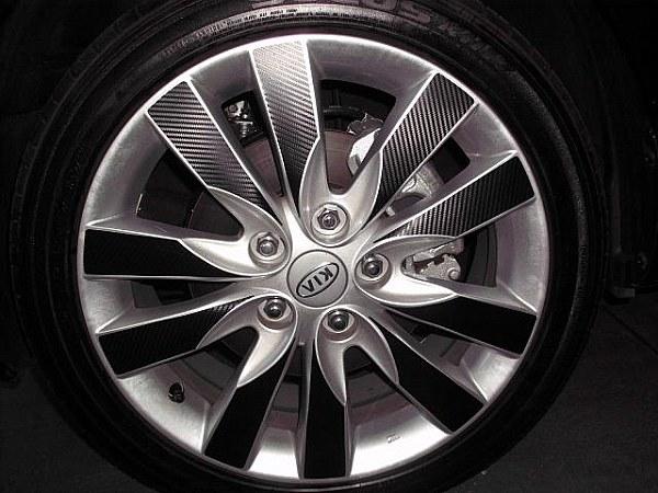 Adesivo De Roda Branco ~ ProGold Envelopamento Rodas Envelopadas