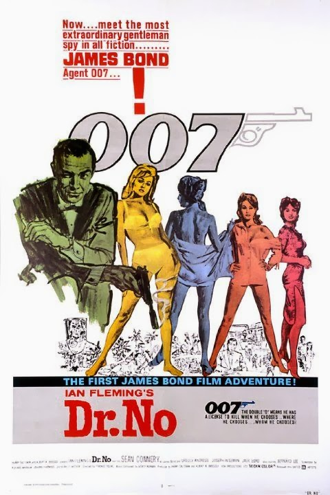 Ian Fleming's James Bond in Dr. No (1962)