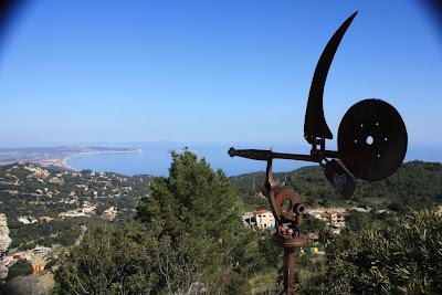 The Castle of Begur in La Costa Brava