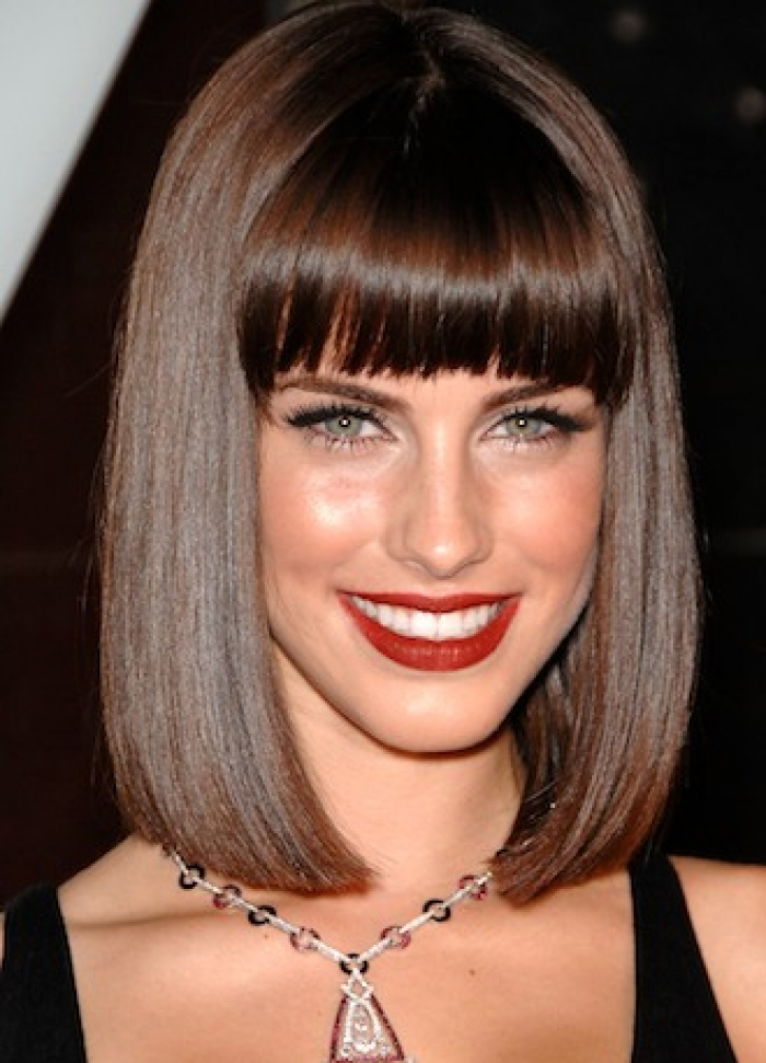 Short Bob Haircuts With Bangs