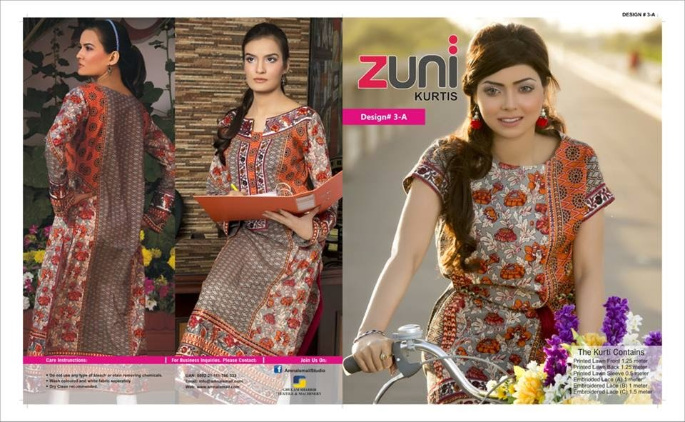 New Style Kurti Collection 2015