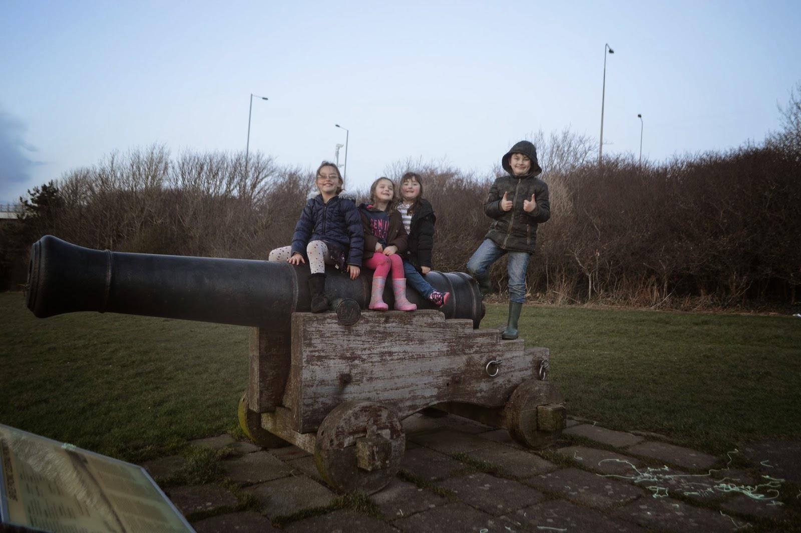 Siblings Portrait cannon Pembrokeshire Photography