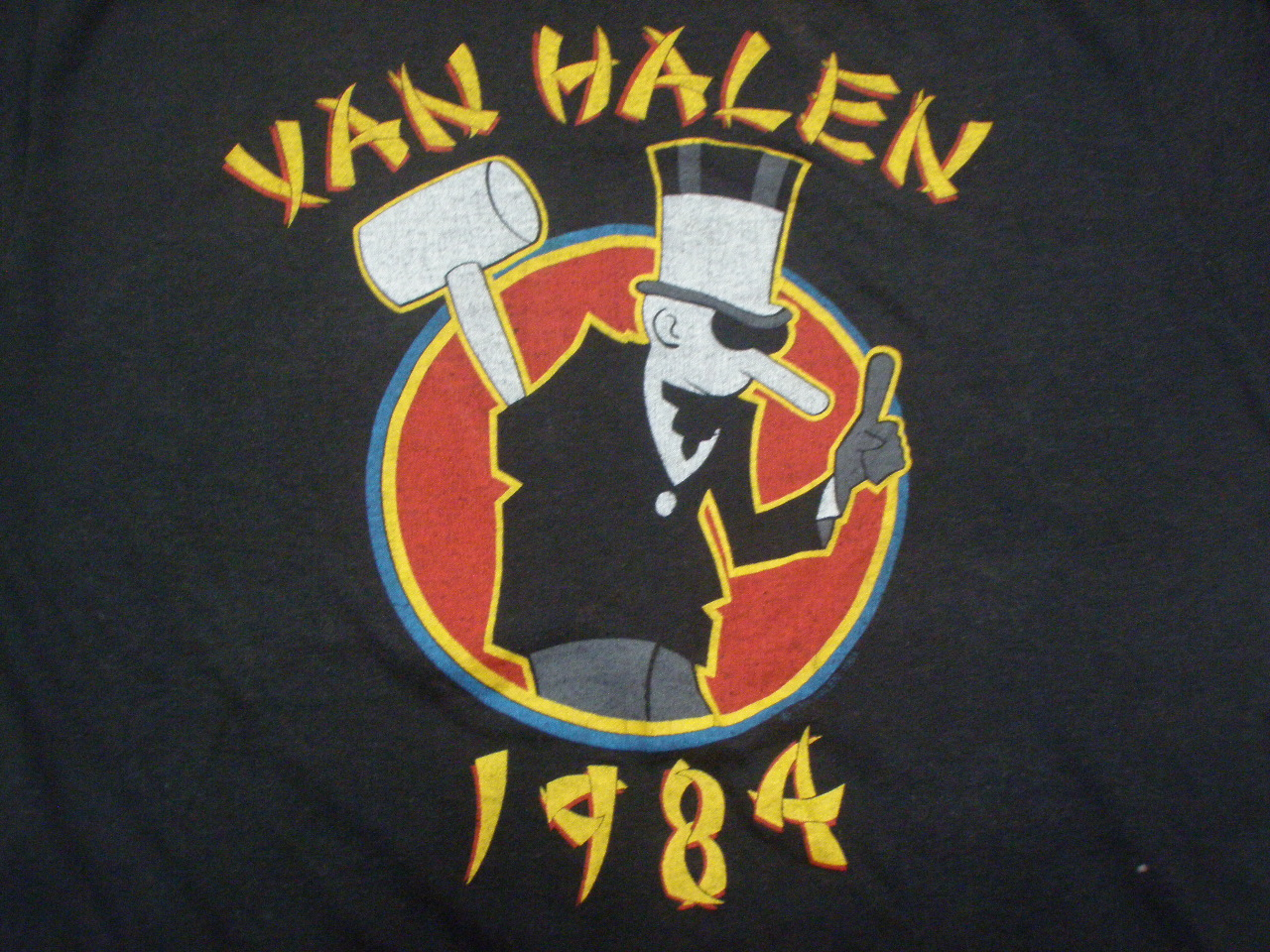 Boran Vintage Van Halen Sold