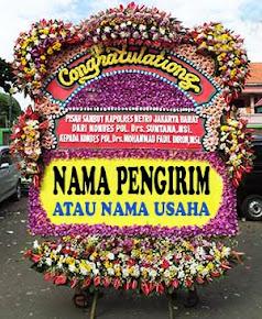 Bunga Papan Congratulation 2,5 juta