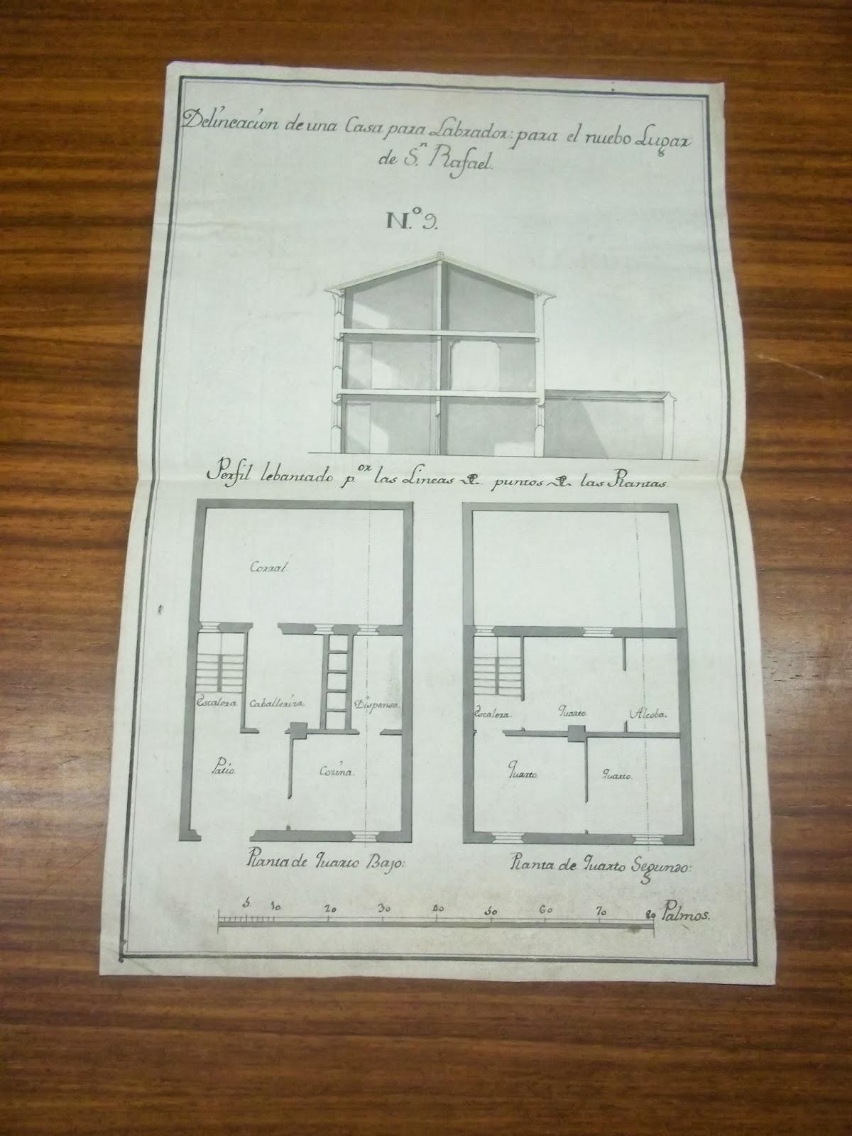 Archivo Duques De Hijar Documentos Eshijar Plano De La Casa