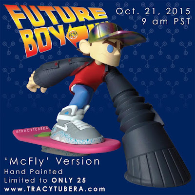 "Back to the Future ""McFly"" Edition Future Boy Resin Figure by Tracy Tubera"