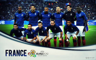 France Squad On-Euro-2012-Wallpaper
