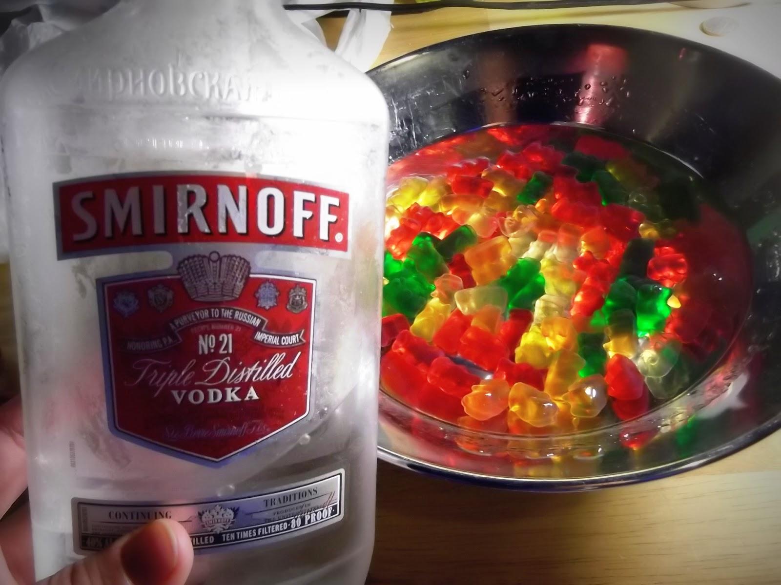 how to make vodka jelly bears