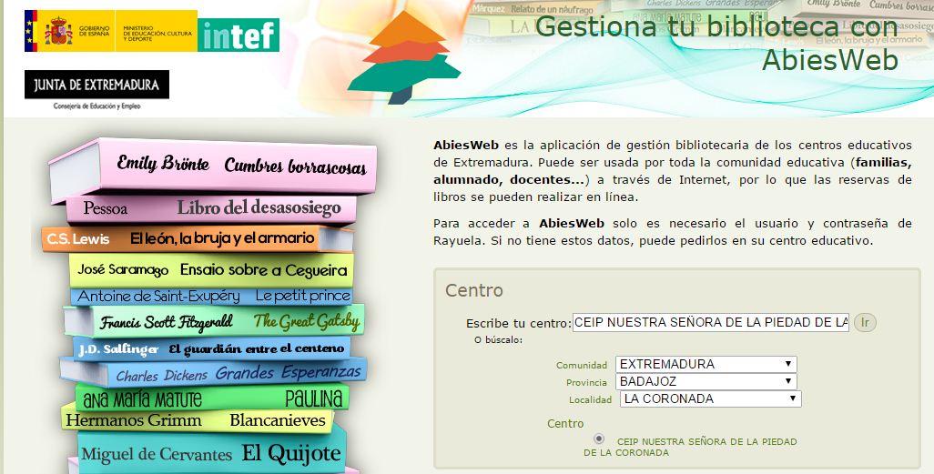 CONSULTA LOS FONDOS DE BIBLIOTECA