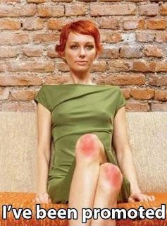 ich bin beförterd worden. rote knie