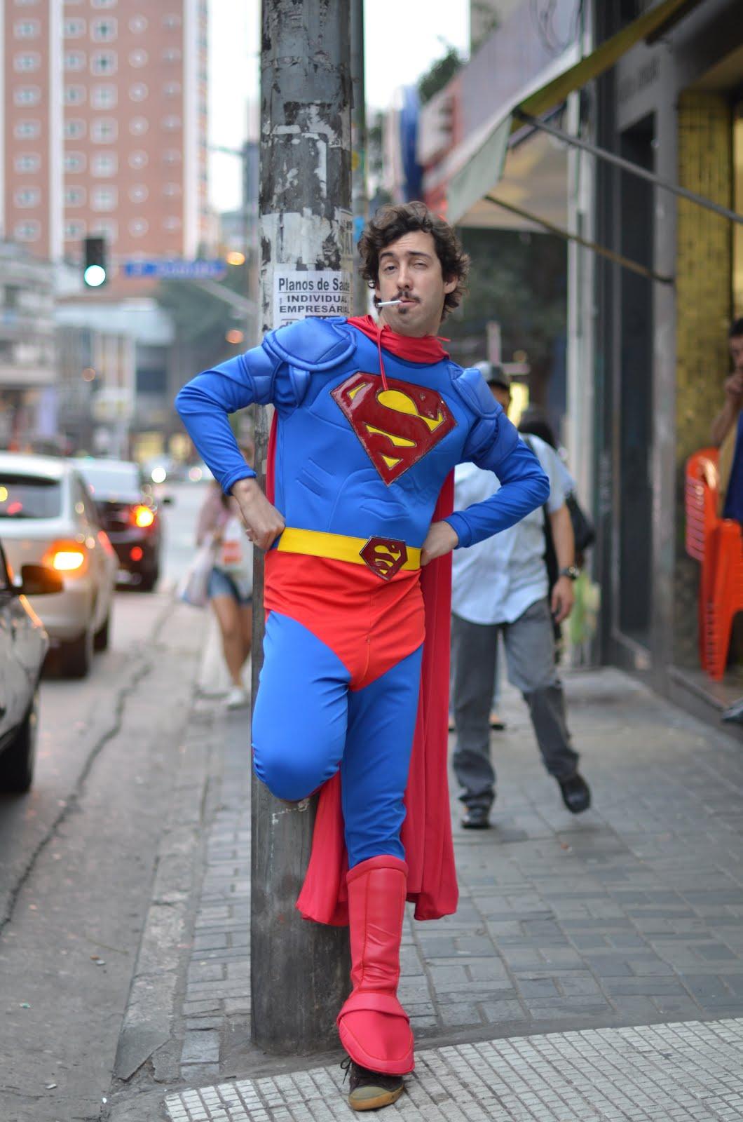 Smoking Superman