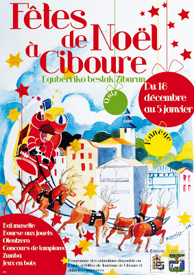 fêtes de noël 2013 à Ciboure