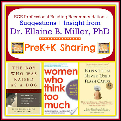 photo of: Dr. Ellaine Miller's Professional Reading Recommendations for Early Childhood at PreK+K Sharing