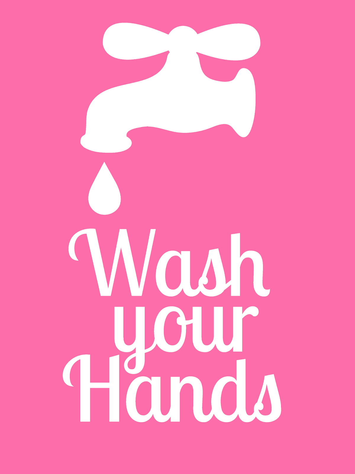 It's just a graphic of Eloquent Free Printable Hand Washing Signs