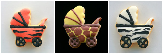 Galletas carrito bebe print animal
