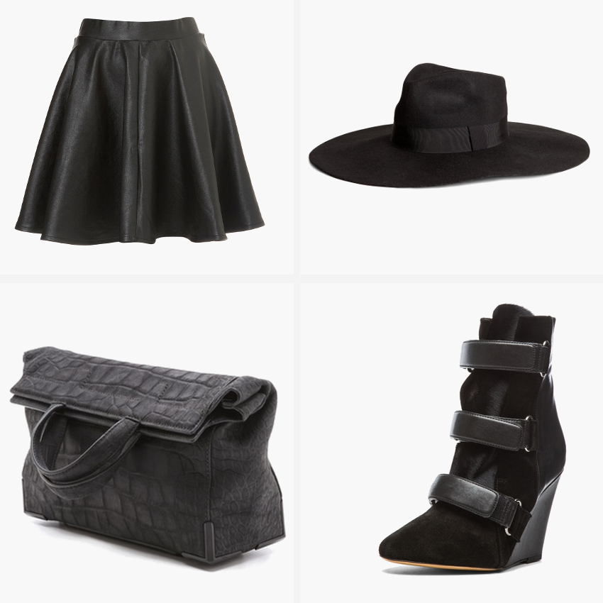 isabel marant Scarlet booties in black, Alexander Wang, Fall Winter 2013 must haves