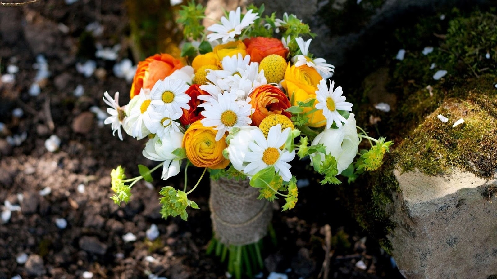 Beautiful Natural Flowers Bouquet