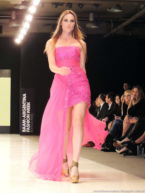 Claudia Cosano primavera verano 2014 vestidos.