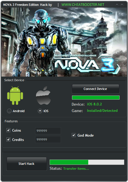 NOVA 3 Freedom Edition Download Hack Cheats