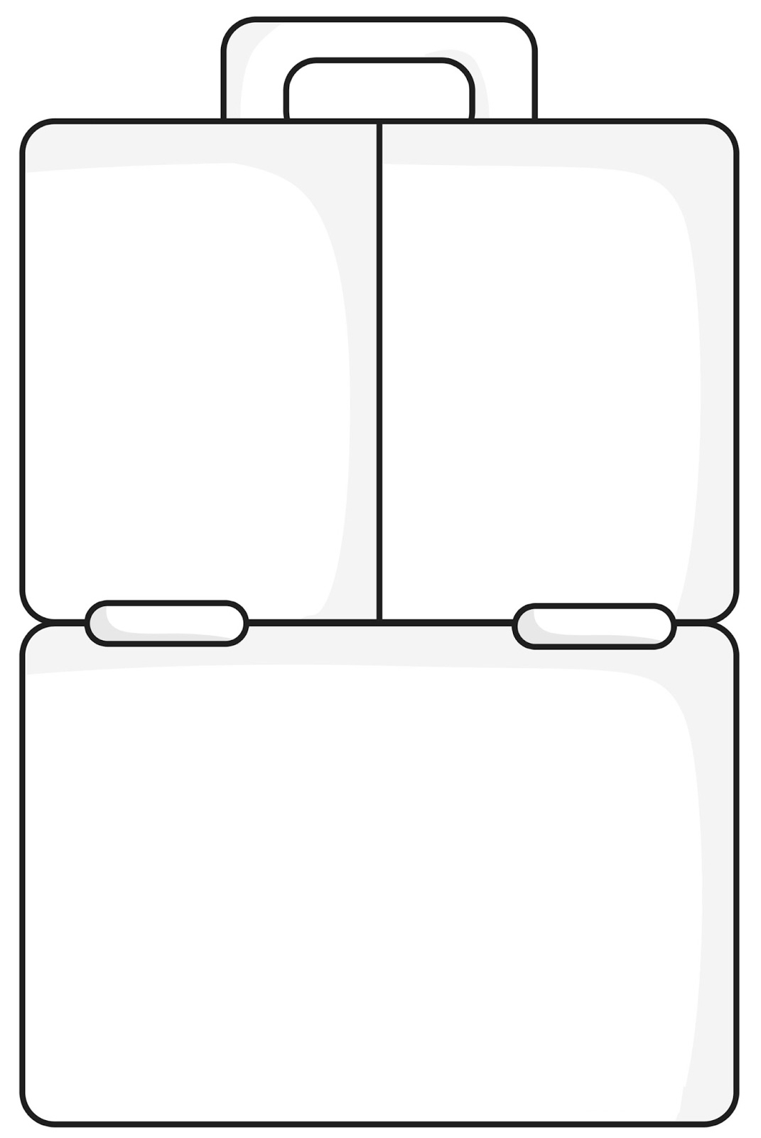 Pics For Gt Empty Lunch Box Clipart