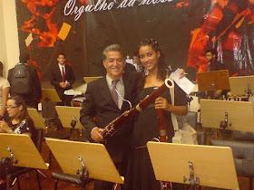 Bruna Bonfim levando o nome de Caaporã pelos Estados do Brasil