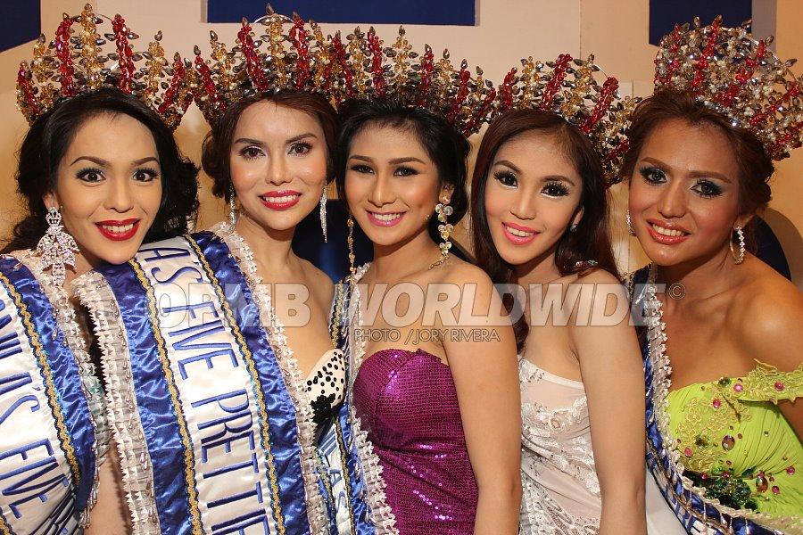 Manila's Five Prettiest 2012 Winners