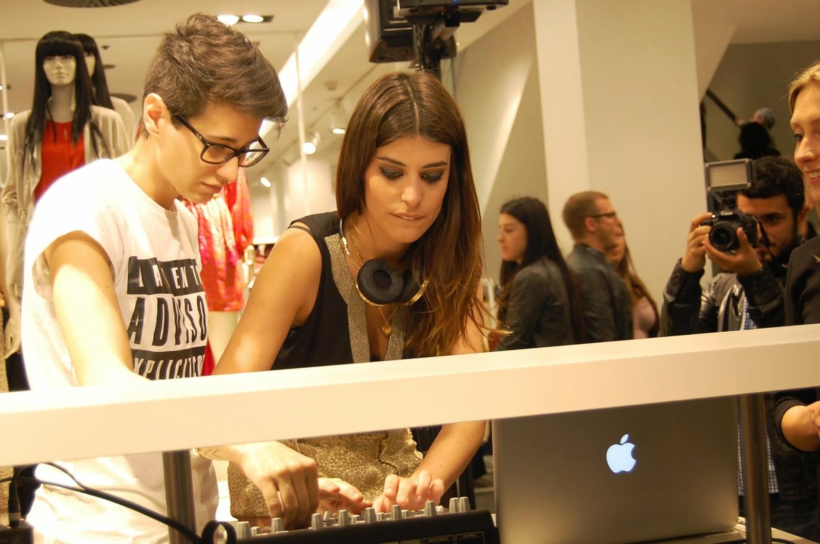 DULCEIDA DJ EN LA PRESENTACION COLECCION CONSCIOUS DE H&M