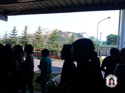 suasana sekitar Pabrik AQUA