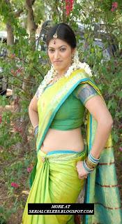 Keerthi Naidu in Low Hip Saree