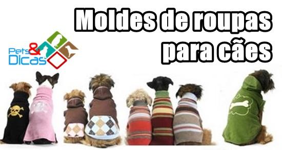 Moldes de roupas para cães